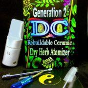 gen 2 DC Dry herb |Atomizer